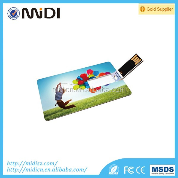 2015 High-speed credit card model USB Memory Stick USB Flash Drive 2GB 4GB 8GB 16GB 32GB