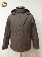 China OEM supplier detachable hooded mens padded jacket for winter