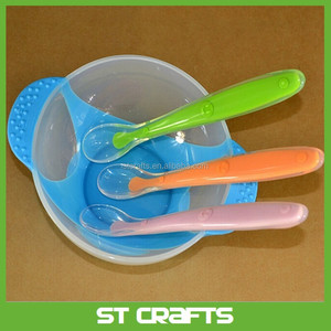 ST Safety silicone baby spoon for baby ,baby feeding spoon,infant kids children silicone spoon