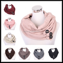 SC0063- Factory Wholesale In Stock Multicolor Fashionable Knitted Scarf