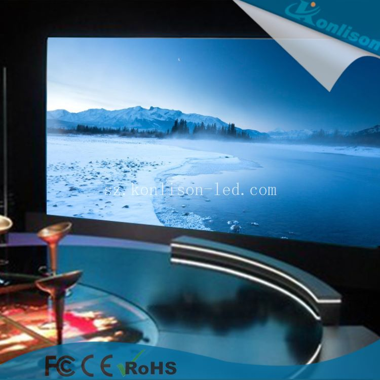 HD P5 LED indoor full color display Die casting aluminum indoor /Outdoor led screen project