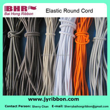Different style round elastic cord for bags shoes