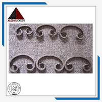 Scrolls decorative wrought iron scroll