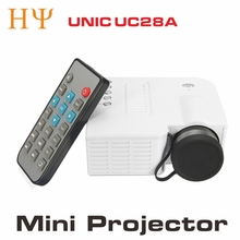 UC28A Projector Factory Supply UNIC 50Lumens HD 12V LED Micro Pocket Size Home UC28A Projector
