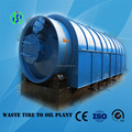 Output abroad rubber raw material recycling to oil pyrolysis machine with CE ISO