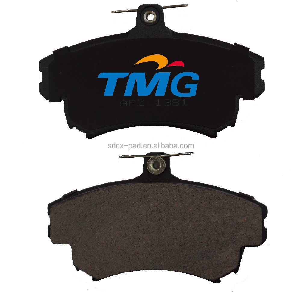 Brake pads with ceramic