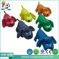 vinyl leather stuffed soft animal dog bean bag toys for educational learning