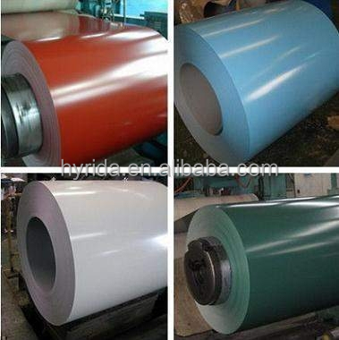 Supply ASTM AISI color coated steel plate coil