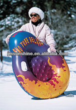 outdoor sports Inflatable snow tube/adult pvc ski/hot sale adult pvc snow tube