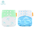 Unisex Happy Flute waterproof pul pocket cloth diaper washable snap nappies