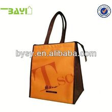 Custom-printed 2012 high quality OEM non woven fabric for shopping bag