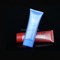 refillable squeeze tubes plastic oval tube