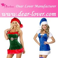 Wholesale Hot-selling style sexy Women christmas costume www 89 com
