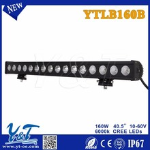 Hot sale 10-60v 40.5inch waterproof ip67 red led light bar for truck trailer,stop/tail/turn lights