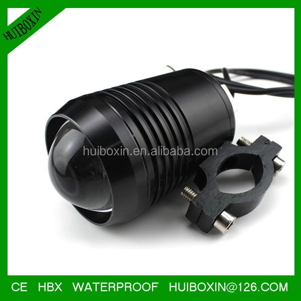Black Bright LED Light 12V 30W CRE <strong>U2</strong> LED Day Light customer project Headlight Motorcycle Car