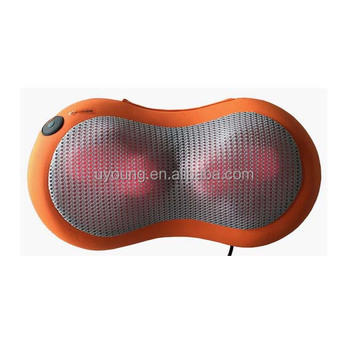 Shiatsu massage cushion with infared heating/car neck massager factory supply