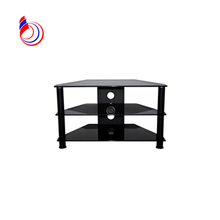 Living room furniture tv stand pictures tempered glass shelf tv wall mount RA021