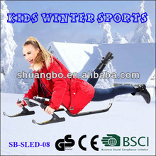 Hot Sale Aluminum Sled Snow for Winter Sporting(SB-Sled-08)