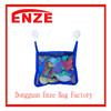 Best Bath Toy Organizer - 2x2 Extra Strong Suction Cups - Great Bath Toy Storage - Blue