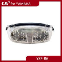 Clear Lens Led Tail Light Spare Part Motor For Yamaha R6 1998-2000