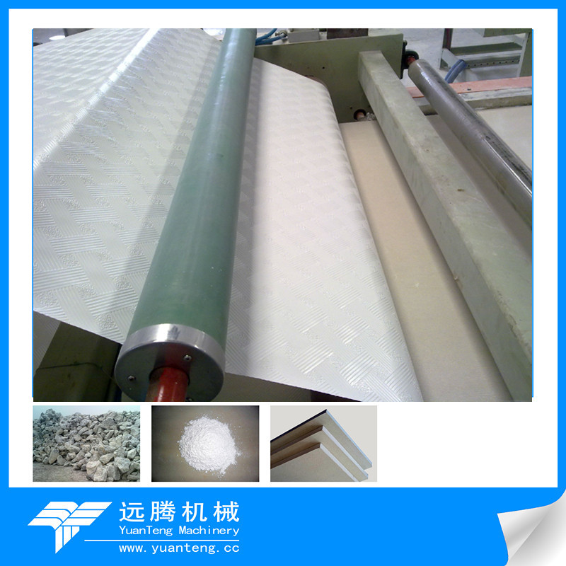 Gypsum Board Lamination Machine with High Quality and Speed