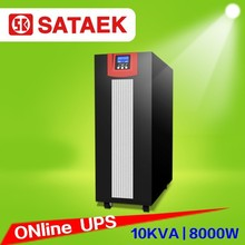 Factory Price Single Phase UPS 10KVA With LCD/LED Large Screen