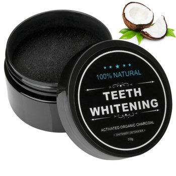 Top selling Natural activated Teeth Whitening Charcoal Powder 30g In Stock