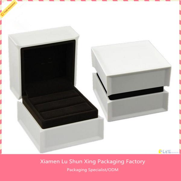 custom logo printed cheap ring box with led light buy