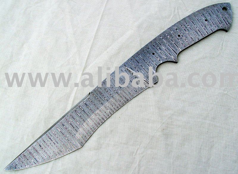 Damascus knives Blades Blanks
