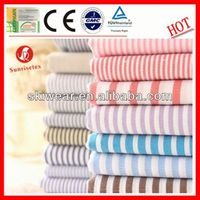 various breathable wicking yellow blue white stripe fabric