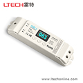 China Supplier 4CH dali dimmable led driver with OLED Display