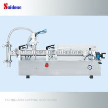 Semi-automatic peanut oil bottle filling machine