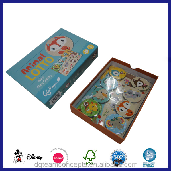educational toy memory game card