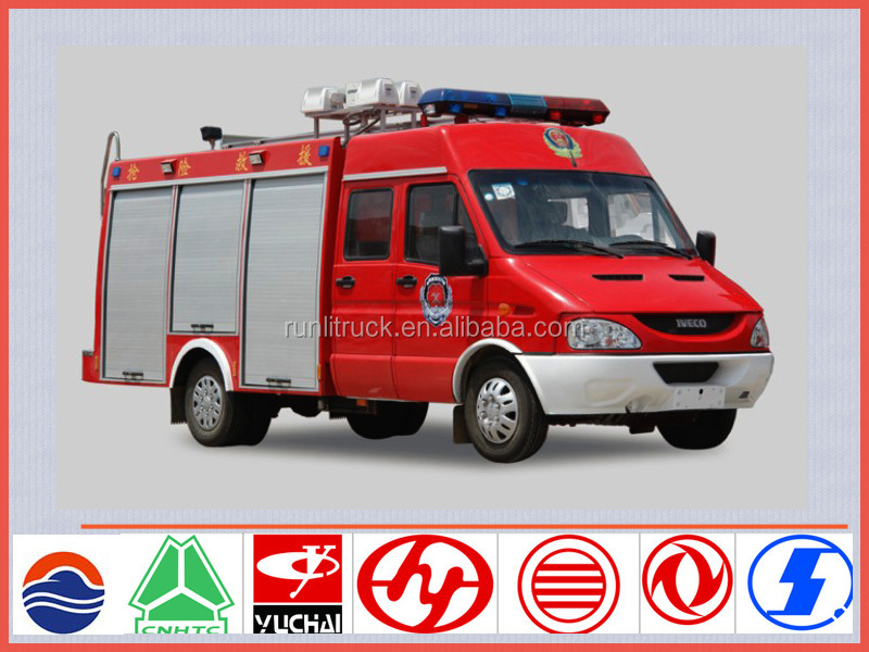 New model iveco fire truck for sale in uae, mini rescue fire fighting truck sale,fire fighting vehicle