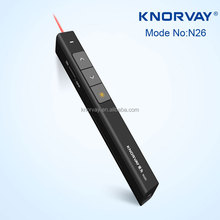 N26 slide up/down & ppt show/esc & black screen presenter laser pointer