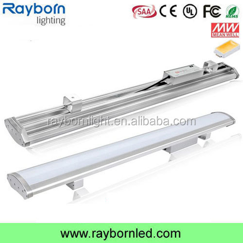 aluminum and PC housing Meanwell HLG IP65 linear led high bay light 120w
