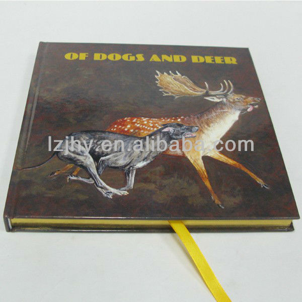 ribbon catalogs printing service in China