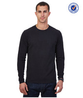 Factory mens clothing bulk long sleeve t-shirts