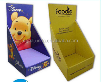 template cardboard display box