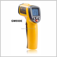 Best price Hot selling mini infrared thermometer GM550E laser temperature meter with measuring range -50~550C