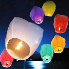 Chinese Sky Lanterns (call 731-513-0288) Ships fromTennessee