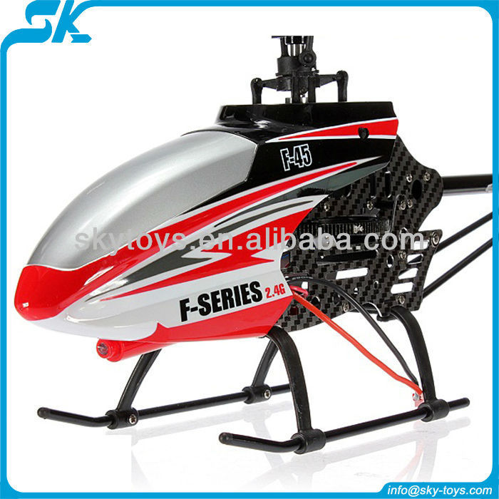!HOT!!! MJX F45 2.4G Single Blade RC Helicopter 4CH With Gyro,Servo,Helicopter with (gyro) remote control rc helicopter