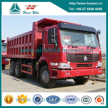 sand tipper dump truck /howo 6x4 10 wheeler dump trucks for sale