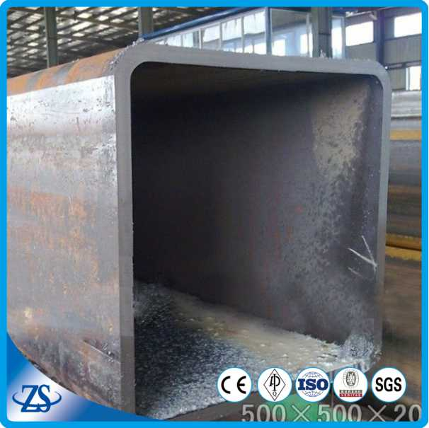 Rectangular and Square seamless hollow steel metal tube size