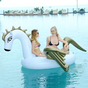 Giant inflatable unicorn pegasus pool float toys for pool