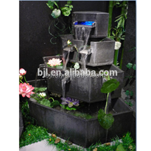 stone fountain outdoor water feature large garden water feature