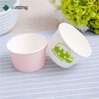 hot recycleable or disposable paper cartoon ice cream cup