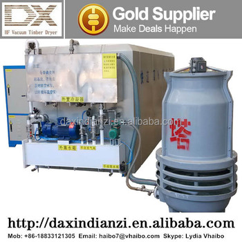 (DX-3.0III-DX) Fast drying microwave/vacuum wood dryer for sale
