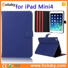 South Korea Leather Magnetic Stand PC+ PU FlipLeather Case for Apple iPad Mini 4 Cover