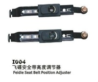 Seat belt position adjuster with polyester cover(I004)